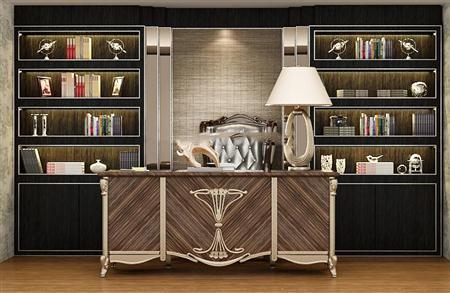 max  1 / 2 loft工业风书架套装2    max  1 / 1 欧式书柜 3d模型