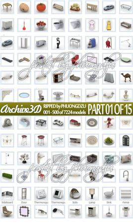 Archive3d RIPPED site pack 1