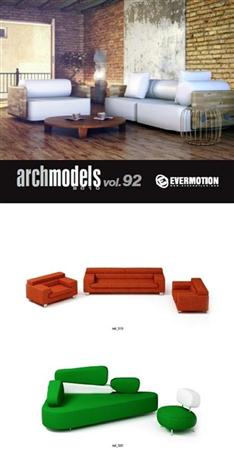 Archmodels vol 92 家居模型