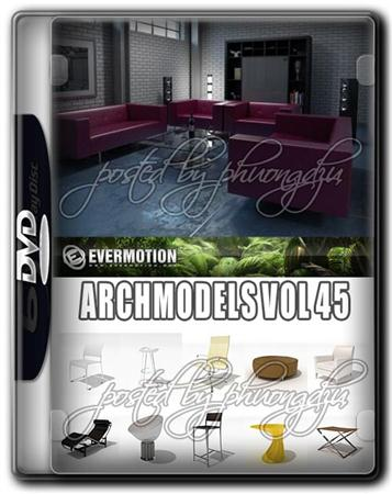 Evermotion Archmodels Vol 45 MAX 现代家具