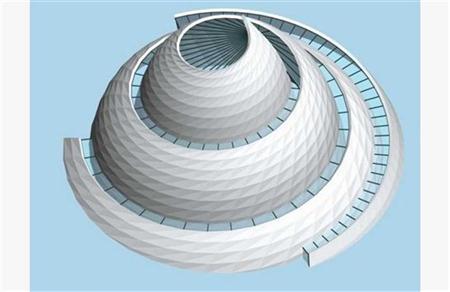 涡轮状建筑