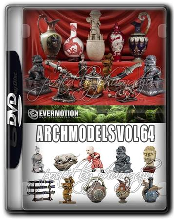 Evermotion Archmodels Vol 64 古玩