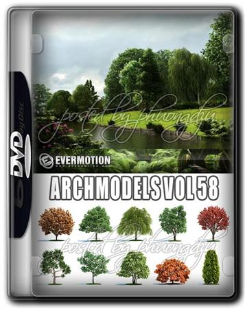 Evermotion Archmodels Vol 58 MAX 树木模型