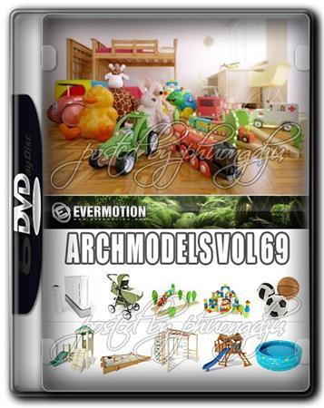 Evermotion Archmodels Vol 69 儿童玩具/游乐场设备/游戏机