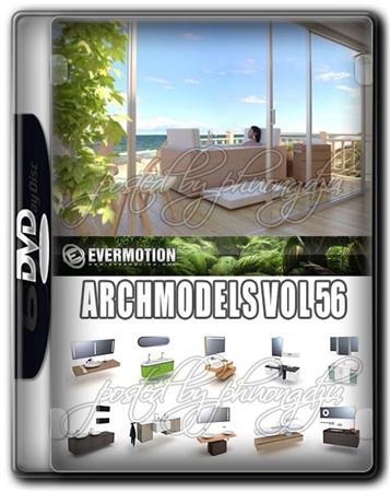Evermotion Archmodels Vol 56 浴室家具