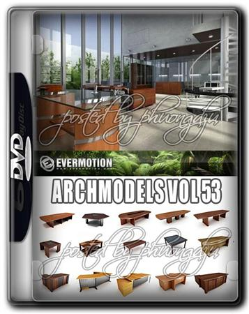 Evermotion Archmodels Vol 53 办公家具