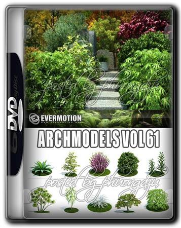 Evermotion Archmodels Vol 61 园林/灌木/树木/植物