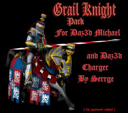""" Grail Knight "" Pack 圣杯骑士"