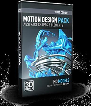 Video Copilot - Motion Design Pack 动态材质设计3D模型合辑