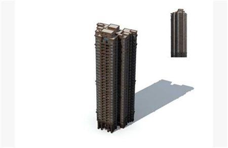 高层商业大楼