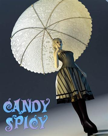3D Model Daz3D Poser - Candy Spicy