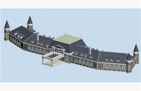 欧式古典建筑