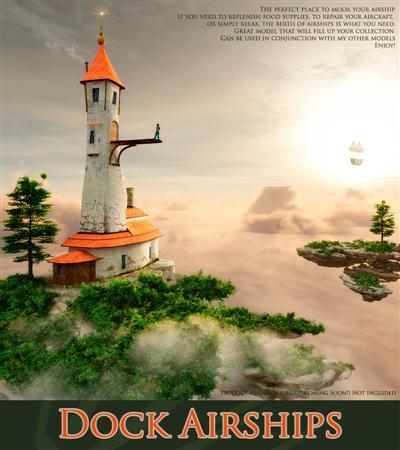 Dock Airships 码头飞艇