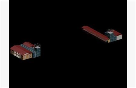 工业厂房 建筑外表