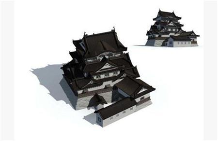 日式古代城堡