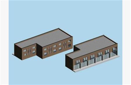 低层建筑 矮房子