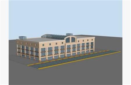 商城 卖场 工厂建筑外表