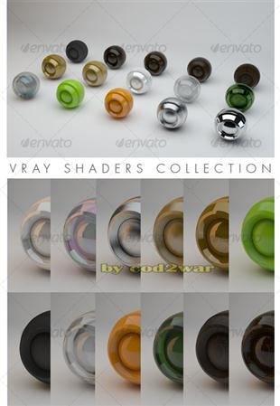 V-Ray materials collection on categories材质集合