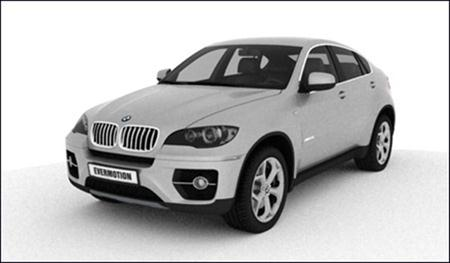 3D Model BMW X6 (V-Ray) 宝马X6模型