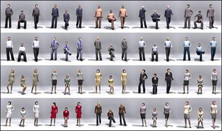 2D and 3D People Models 人物模型