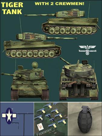 WW II Models 二战坦克