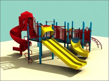 3D Models for Children Playground 儿童游乐场3D模型