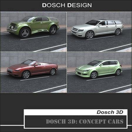 DOSCH 3D: Concept Cars 概念车模型