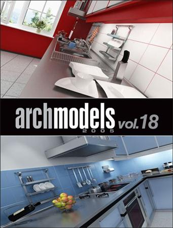 Evermotion – Archmodels vol. 18 (C4D)