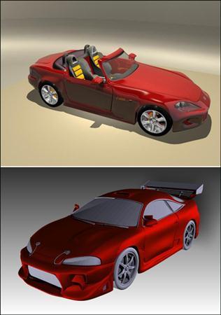 3D Models of Sports Cars 跑车集合