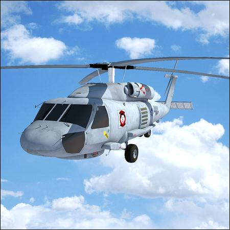 Sikorsky Helicopters for Maya 直升机