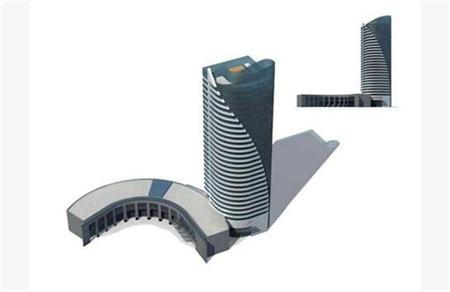 高楼大厦模型