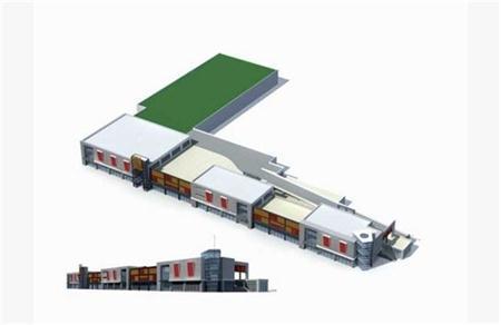 商业街模型