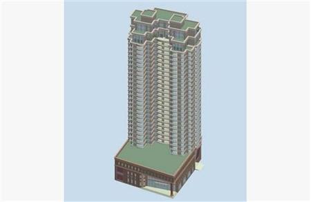 高层住宅建筑 016