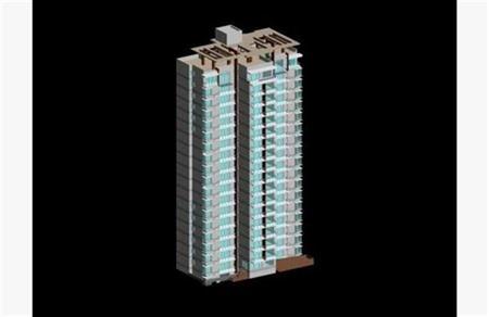 高层住宅建筑 136
