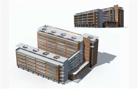 工厂厂房大楼