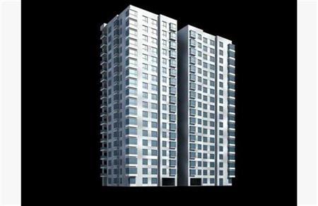 高层建筑外表