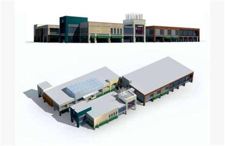 工厂建筑外表