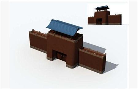 中国古代城楼