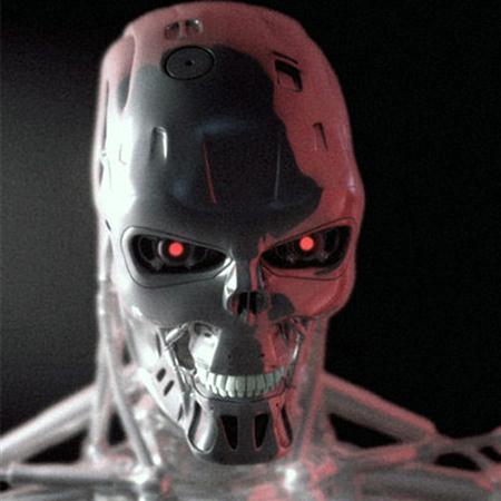 T-800-HEAD 机械骷髅