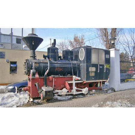 Narrow Gauge Steam Locomotive 蒸汽火车头