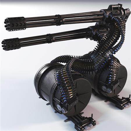 机枪 Gua - 8 Avanger Gun