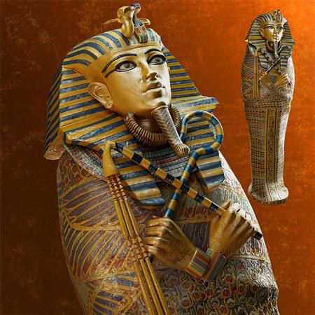 Sarcophagus of Tutankhamun 埃及法老石棺