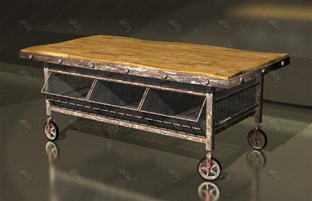 vintage facory trolley 酒厂手推车