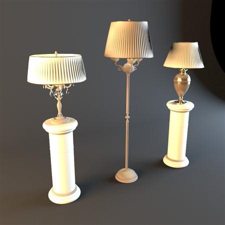落地灯 classic lamps