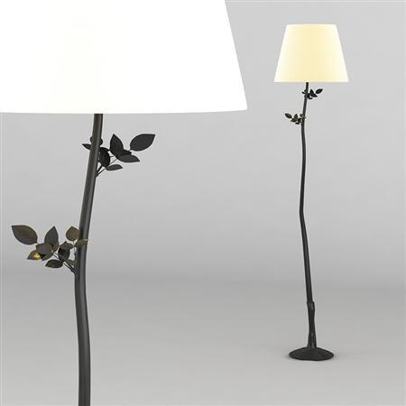 落地灯 Diego Giacometti Foliage floor lamp