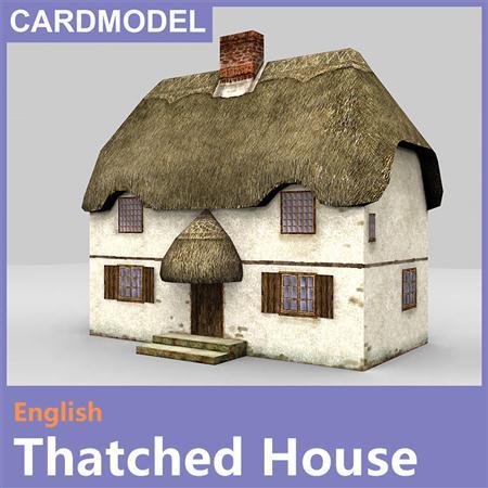 English thatched house 英国茅草屋