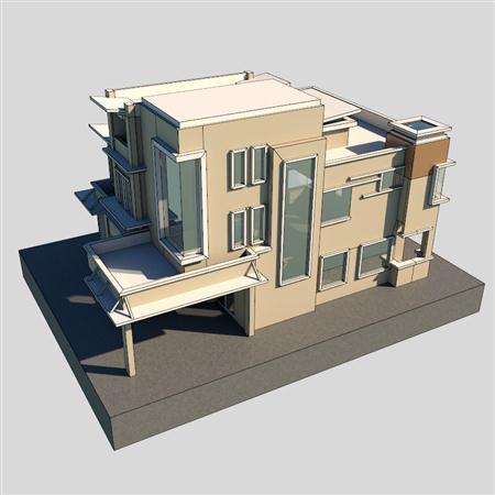 现代公寓 Modern Bungalow