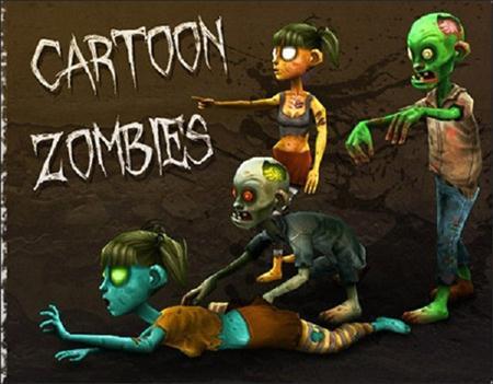 Cartoon Zombies 卡通的僵尸 (unity3d)