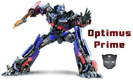 擎天柱 Optimus Prim 变形金刚系列单体模型