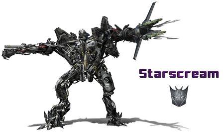 红蜘蛛 Starscream 变形金刚系列单体模型